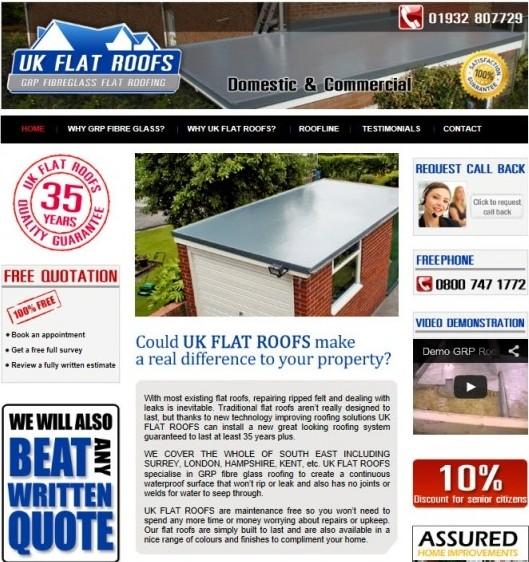 UK Flat Roofs
