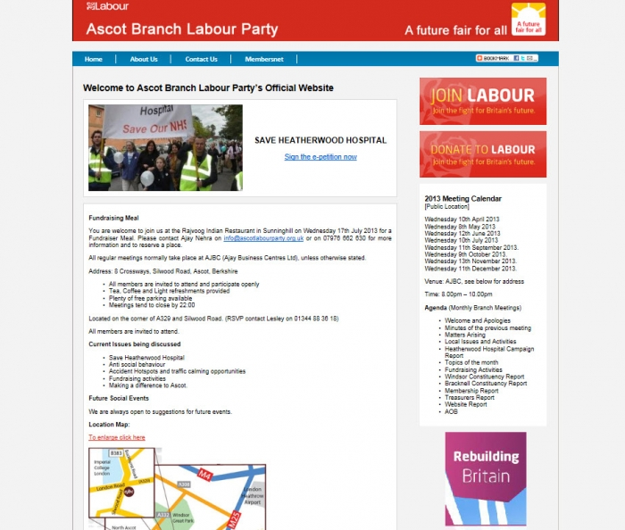 Ascot Branch Labour Party