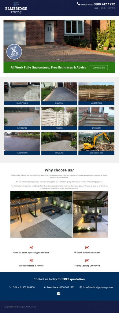 Elmbridge Paving